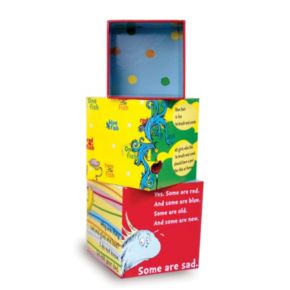 Dr. Seuss ''One Fish, Two Fish'' Stacking Blocks by Manhattan Toy