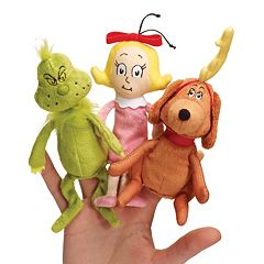 Dr. Seuss's The Grinch Finger Puppet Set by Manhattan Toy