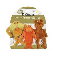 Dr. Seuss The Lorax Finger Puppet Set by Manhattan Toy