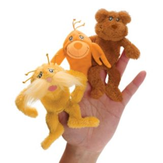 Dr. Seuss The Lorax Finger Puppet Set by Manhattan Toy