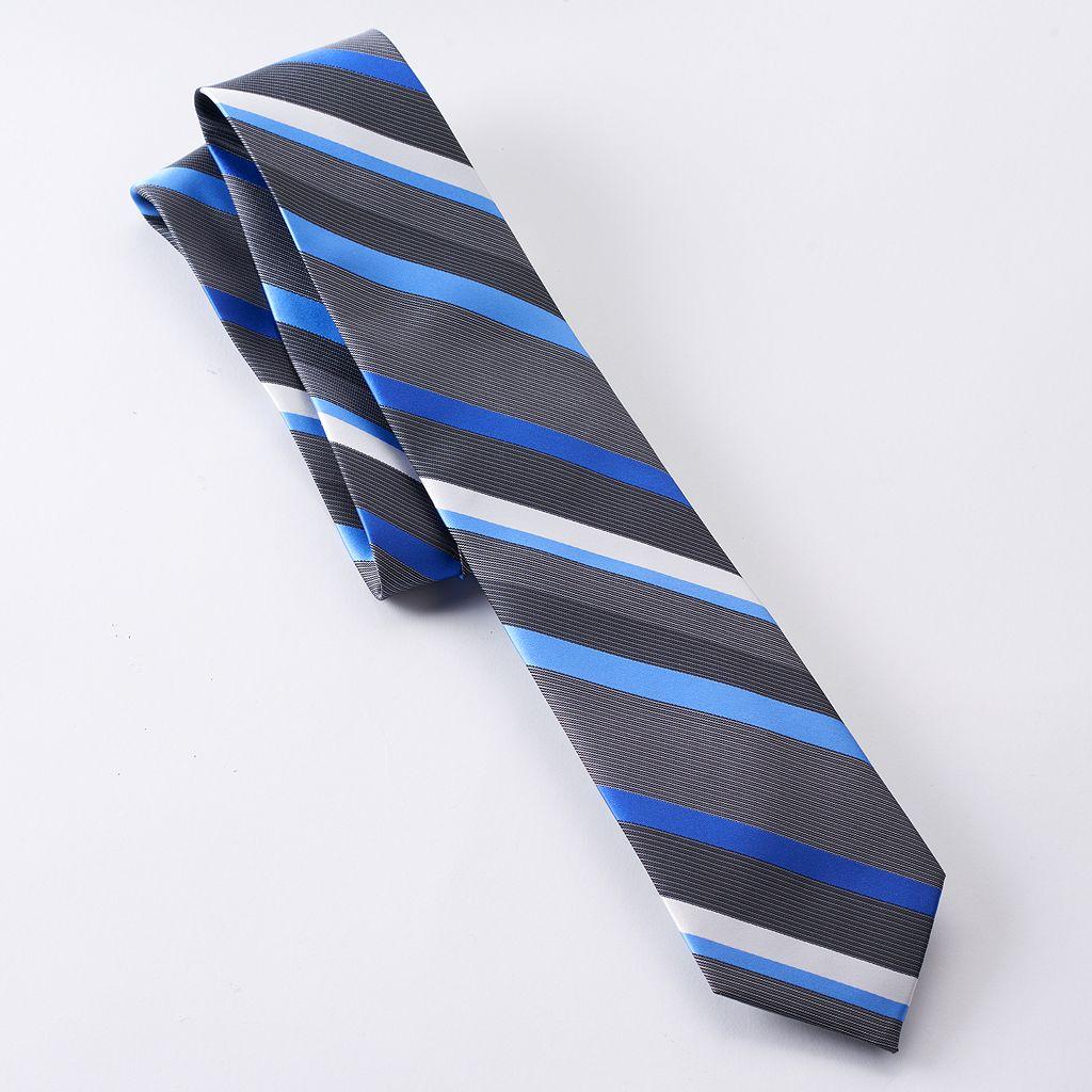 Van Heusen Castle Striped Skinny Tie - Men