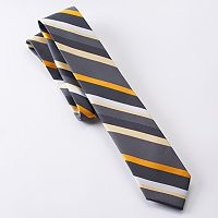Van Heusen Castle Striped Skinny Tie - Men