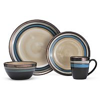 Gourmet Basics Spector 16-pc. Dinnerware Set