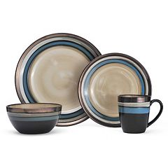 Gourmet Basics Spector 16 pc Dinnerware Set
