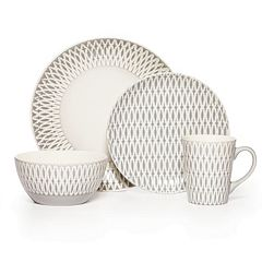 Gourmet Basics Aurora 16 pc Dinnerware Set