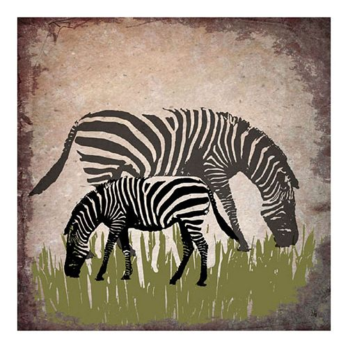 ''Zebra'' Canvas Wall Art
