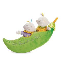 Snuggle Pods Two Peas in a Pod by Manhattan Toy