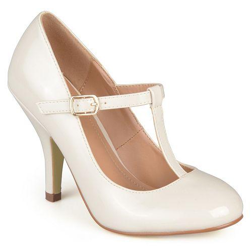 Journee Collection Lessah Women's T-Strap High Heels