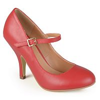 Journee Collection Lezly Women's Matte Mary Jane High Heels