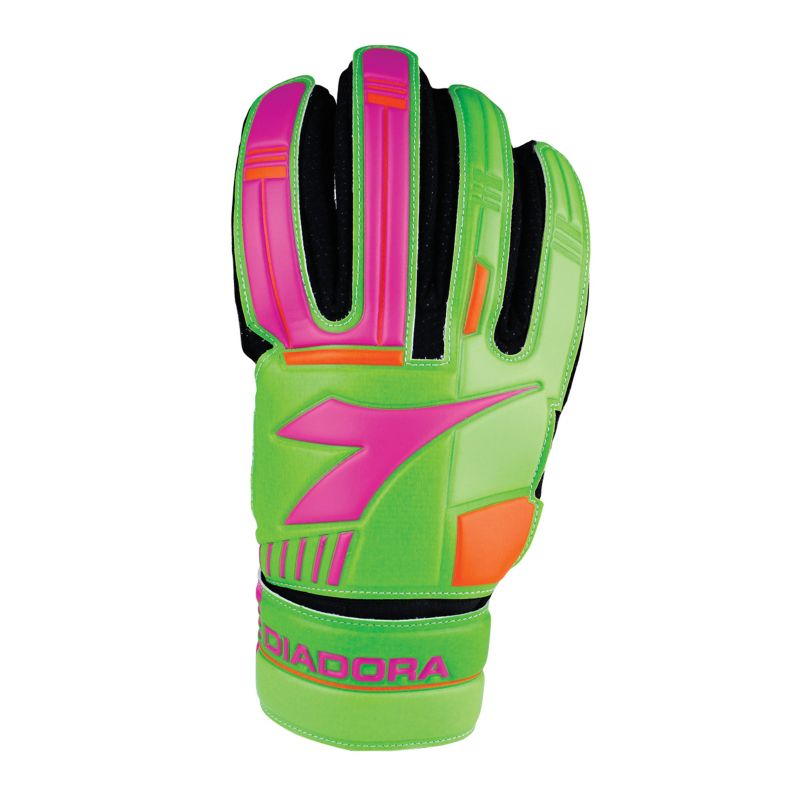 Image result for pink orange green goalie gloves