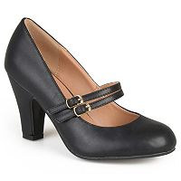 Journee Collection Windy Women's Matte Mary Jane High Heels
