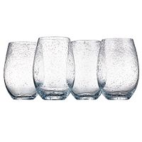 Artland Iris 4-pc. Stemless Wine Glasses
