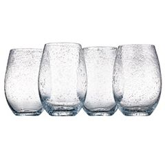 Artland Iris 4 pc Stemless Wine Glasses