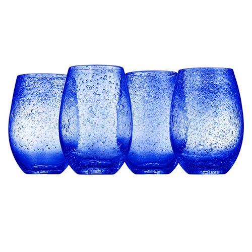 Artland Iris 4-pc. Stemless Wine Glasses