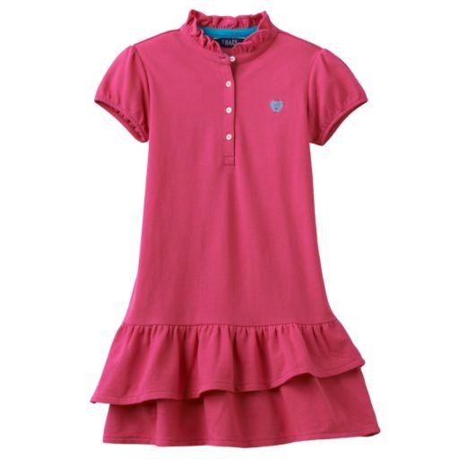 Toddler Girl Chaps Pique Polo Dress