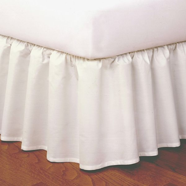 Good News Wrap Around Ruffled Bed Skirt, Wrap Around Bed Skirt Queen Size