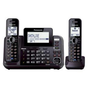 Panasonic Bluetooth 2-Handset Cordless Phone & Answering System