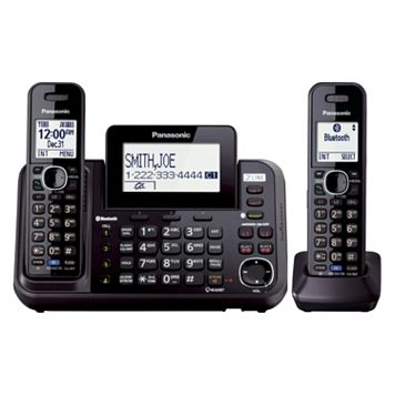 Panasonic Bluetooth 2-Handset Cordless Phone & Answering System