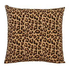 M. Kennedy Home Kalahari Leopard Throw Pillow