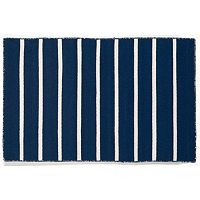 Liora Manne Sorrento Pinstripe Reversible Indoor Outdoor Rug