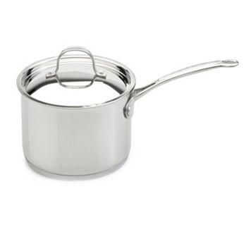 BergHOFF Premium 3-qt. Stainless Steel Covered Saucepan