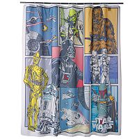 Star Wars Home Fabric Shower Curtain