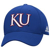 Adult adidas Kansas Jayhawks Structured Adjustable Cap