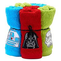 Star Wars Home 6 pkWashcloths