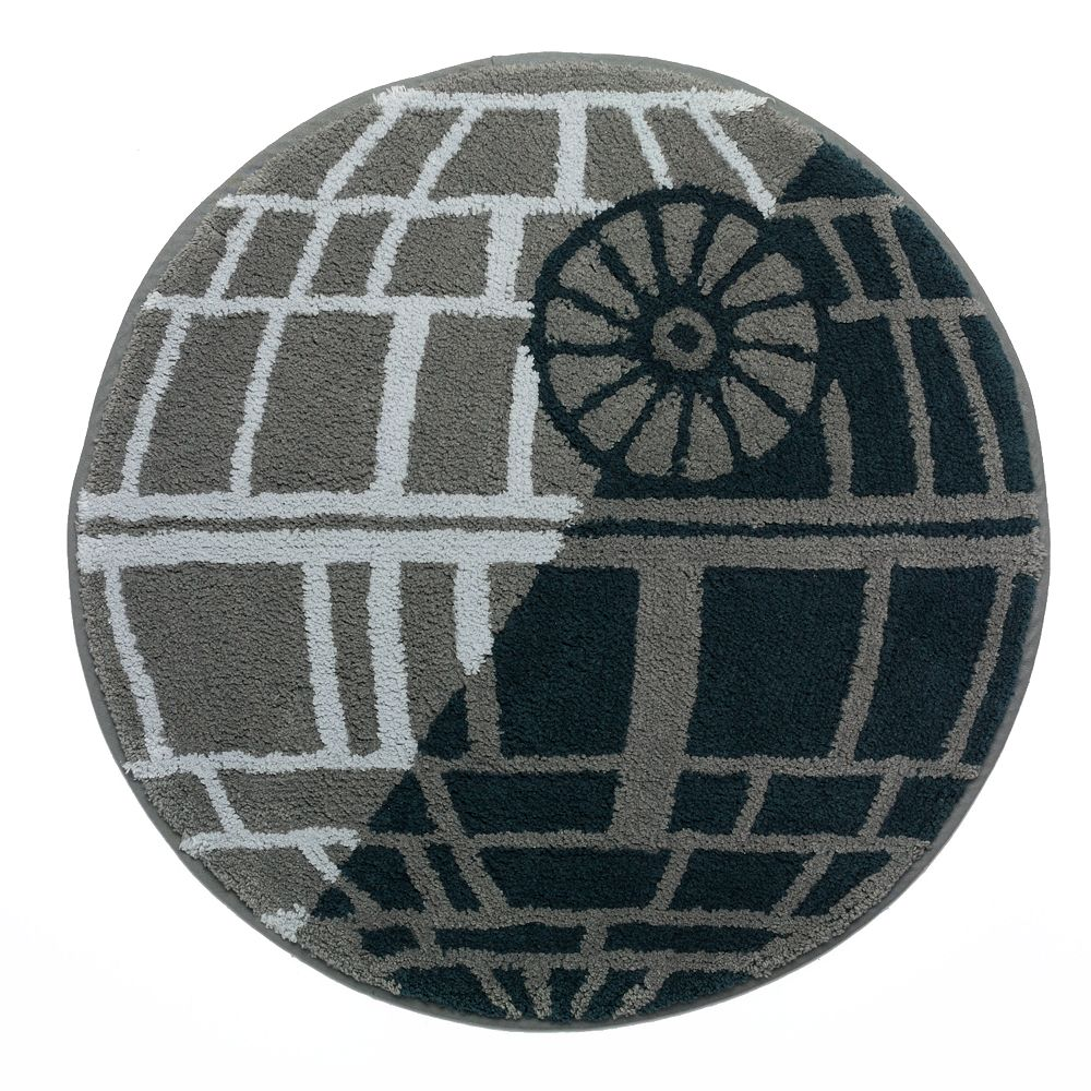 Star Wars Bath Mat.Star Wars Home Death Star Bath Rug