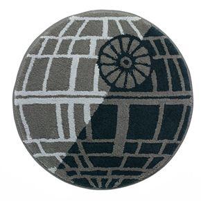 Star Wars Home Death Star Bath Rug Kohls