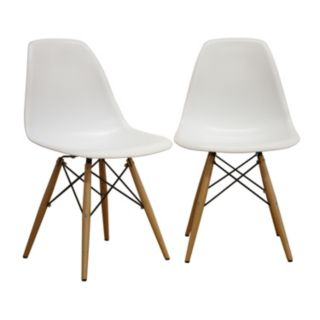 Baxton Studio 2-Piece Azzo Side Chair Set