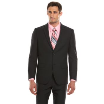 Men's Savile Row Modern-Fit Black Suit Jacket