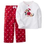 Girls 4-14 Carter's Christmas Dog Pajama Set