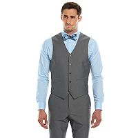 Men's Savile Row Modern-Fit Gray Suit Vest