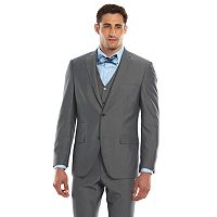 Men's Savile Row Modern-Fit Gray Suit Jacket