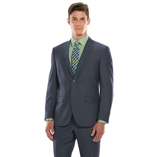 Men's Savile Row Modern-Fit Blue Suit Jacket