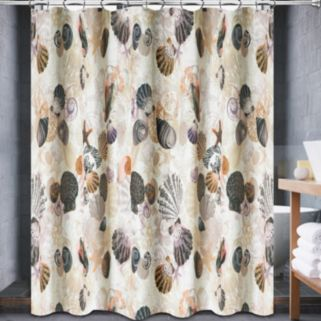 Popular Bath Beach Life Fabric Shower Curtain