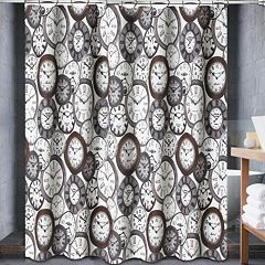 Popular Bath Valentina Fabric Shower Curtain