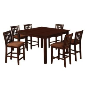 Venetian Worldwide Eleanor 7-piece Counter Height Dining Set
