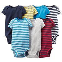 Baby Boy Carter's 7-pk. Stripe Bodysuits