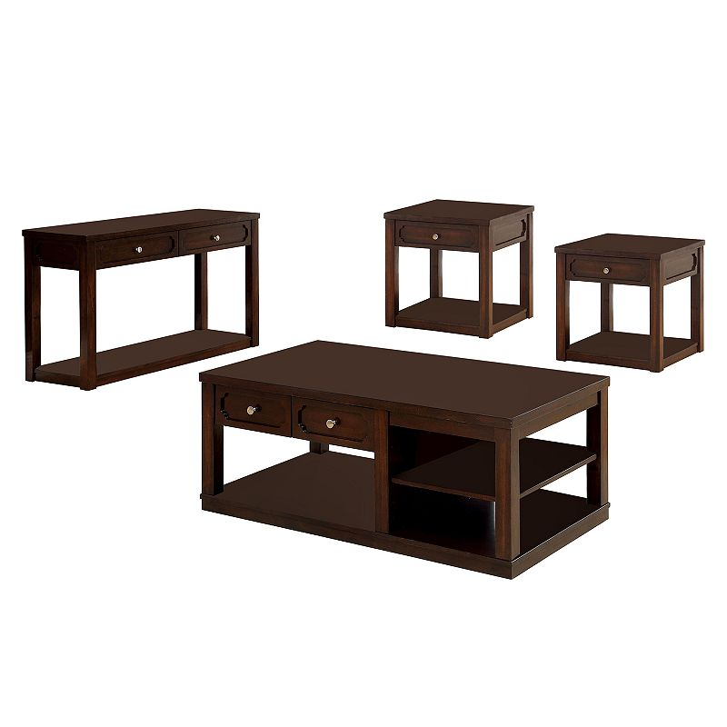 Living room table set kohl 39 s for 4 piece living room table set