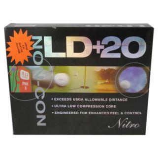 Nitro 12-pk. LD + 20 Non Conforming Golf Balls