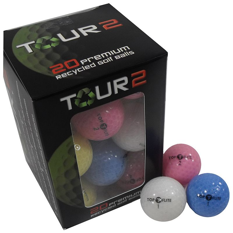 Nitro 20-pk Recycled Topflite Quartz Golf Balls - Women's