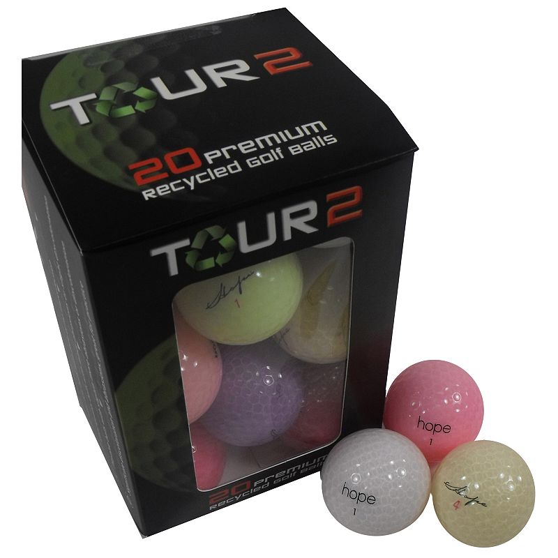 Srixion Mix Recycled Golf Balls- 24 pack