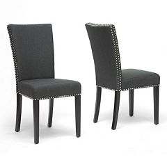 Baxton Studio 2 pc Harrowgate Modern Dining Chair Set