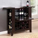 Baxton Studio Modesto Dry Bar & Wine Cabinet