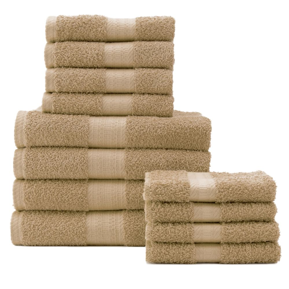 Big One 12 pc Bath Towel Value Pack