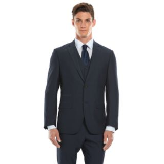 Men's Savile Row Modern-Fit Navy Suit Jacket