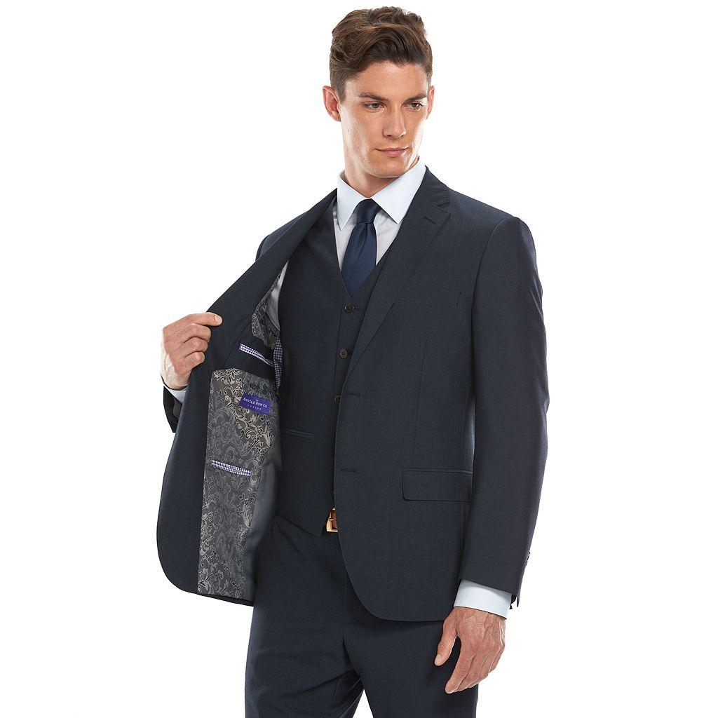 Men's Savile Row Modern-Fit Navy Suit Jacket