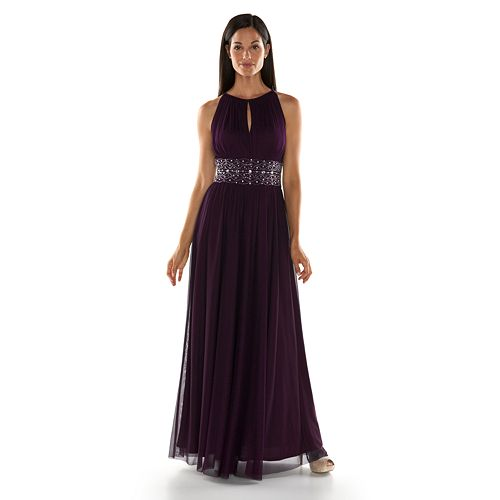 Howard Beaded Halter Evening Gown - Women\'s